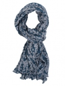 Schal Lennja von Sorgenfri Sylt in sweden blue