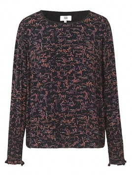 Blouse von Noa Noa in print black