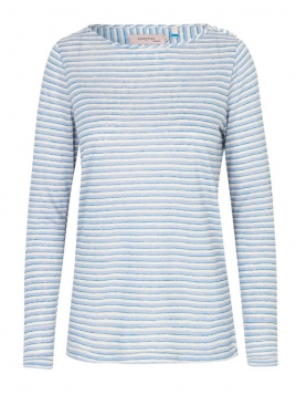 Langarm T-Shirt von Noa Noa in art blue