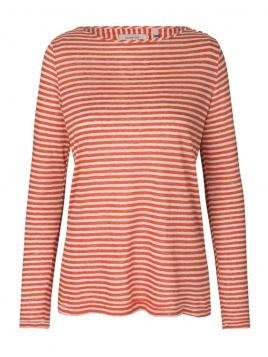 Langarm T-Shirt von Noa Noa in art red