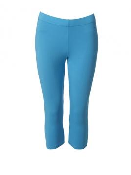 Kurze Leggings von Du Milde in Turquoise