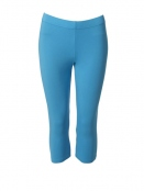 Kurze Leggings von Du Milde in Turquoise