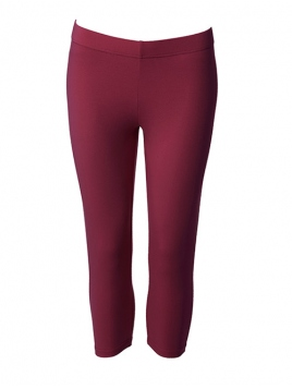Kurze Leggings von Du Milde in DarkCherry